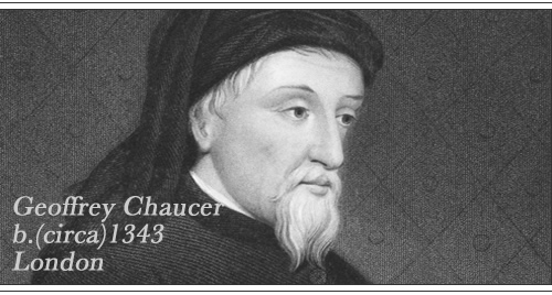 A biography of geoffrey chaucer one of the greatest english poets